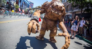 Making a Star Wars Rancor Costume for Comic-Con!