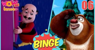 Motu Patlu In Hindi | Bablu Dablu Cartoon Video | Compilation #6 | Animated Series | Wow Kidz Binge