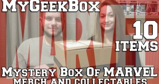 MyGeekBox Mystery Box Of MARVEL Merch and Collectables 10Items Unboxing - Οι Φαν θα το λατρέψουν!
