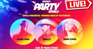 *NEW* FORTNITE LIVE CONCERT EVENT! - DIPLO, YOUNG THUG & NOAH CYRUS!