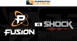 Philadelphia Fusion vs San Francisco Shock | Week 21 | NA Day 2
