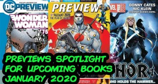 Previews Spotlight - What Comic Books to Buy for January 2020!!