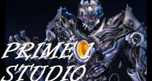 Prime 1 Studio Transformers: AOE Galvatron Polystone Statue PREVIEW