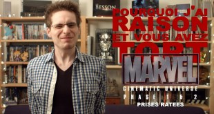 Prises Ratées - Marvel Cinematic Universe