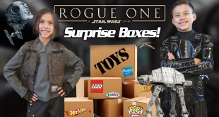 ROGUE ONE TOY SURPRISE!!! NEW Star Wars LEGO, Hot Wheels, Action Figures and More!