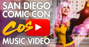 SDCC San Diego Comic Con - Cosplay Music Video ‏ 2015