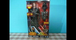 Star Wars Anakin Skywalker to Darth Vader glowing Lightsaber 2 in 1 Action Figure review