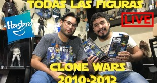 Star Wars The Clone Wars serie completa Hasbro 3.75 (2010 - 2012)