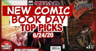 TOP 5 NEW COMICS TO BUY FOR JUNE 24TH 2020 | NEW COMIC BOOK DAY | NCBD