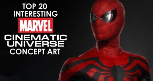 Top 20 Interesting MCU Concept Art