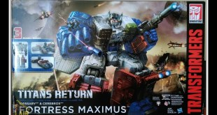 Transformers Hasbro Titans Return Fortress Maximus Spanish Review PREDAKINGSLAIR