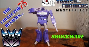 Transformers K.O. Masterpiece SHOCKWAVE Review