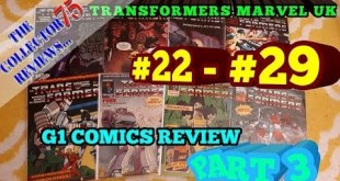 Transformers Marvel UK Comics Review part 3 Issues # 22 - 29