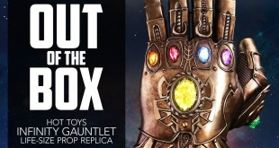 Unboxing Hot Toys' Infinity Gauntlet Life-Size Replica