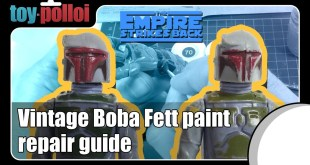 Vintage Star Wars Boba Fett paint repair guide - Toy Polloi