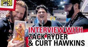 Zack Ryder & Curt Hawkins at SDCC! The Major Wrestling Figure Podcast, Macho Man & More!
