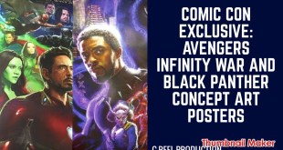 Comic Con Exclusive: Avengers Infinity War and Black Panther Concept Art Posters