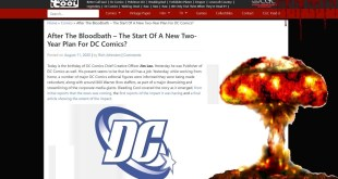 "DC Comics New ""Two Year Plan"" After 1/3 Of All Staff Terminated!"