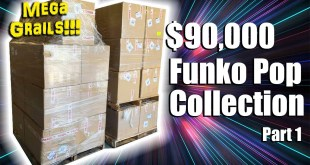 FUNKO POP MEGA GRAIL COLLECTION UNBOXING - $90,000 PPG Value!!! -- Part 1
