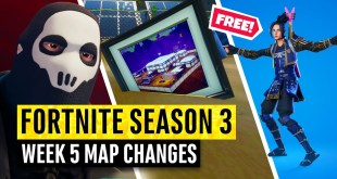Fortnite | All Season 3 Map Updates and Hidden Secrets! WEEK 5