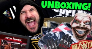 HUGE WWE UNBOXING!!! Wrestling Merchandise From WWE Euroshop