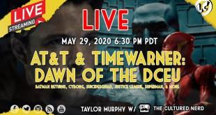 LIVE: AT&T & TimeWarner: Dawn Of The DCEU