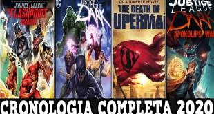 La Cronologia Completa Para Ver Las Peliculas Animadas de DC Comics con Orden e Importancia.