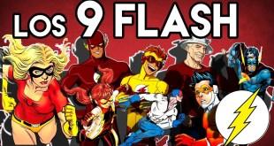 Los 9 Flash de DC comics Poderes? Datos? Origen? Velocidad? en los Comics