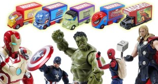 Marvel Avengers Die-cast Cars Toy Spider-man,Iron-man,captain america,Hulk,Thor