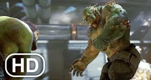 Marvel's Avengers NEW Gameplay Demo Hulk Vs Abomination Fight Scene HD