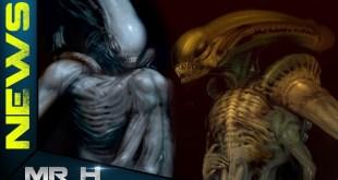 Mutated Xenomorph Concept Art For Unmade Alien Movie