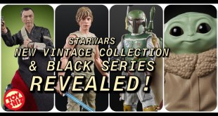 NEW 2020 STARWARS Black Series and Vintage Collection Announced