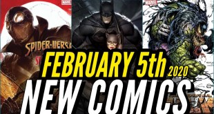 NEW COMIC BOOKS RELEASING FEBRUARY 5th 2020 MARVEL & DC COMICS PREVIEW COMING OUT THIS WEEKS PICKS