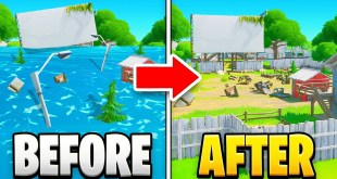 NEW UPDATE! Water Levels Are Going DOWN in Fortnite!