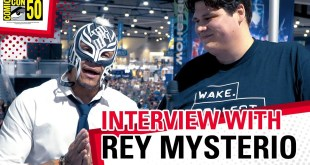 Rey Mysterio on the Hidden Gems of San Diego! SDCC Interview with WWE Superstar Rey Mysterio!