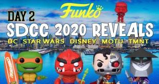 SDCC 2020 Funko Exclusives | DC | Star Wars | TMNT | Disney