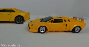 SUNSTREAKER vs BUMBLEBEE Stop Motion Transformers Masterpiece REVIEW  MP39 DibujAme Un