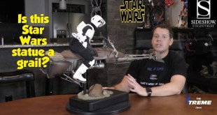 Sideshow Scout Trooper with Speeder Bike Premium Format Statue Review - Star Wars: Episode 21