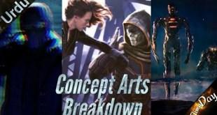 The Eternals, Black Widow, Falcon and Winter soldier Concept Art Breakdown in |Hindi|URDU|Filmy day|