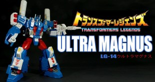 Transformers Legends LG-14 Ultra Magnus Takara Tomy Leader Class robot Review
