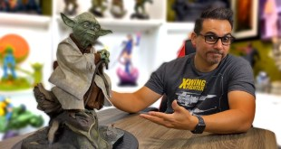 Unboxing the Sideshow Yoda Legendary Scale Statue Star Wars