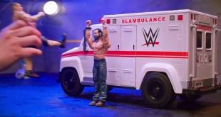 WWE Wrekkin Slambulance Vehicle - Smyths Toys
