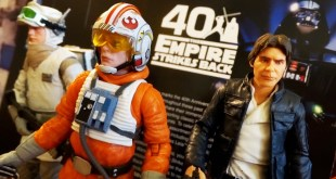 """The Empire Strikes Back"" 40th Anniversary Hasbro Star Wars Black Series  Figures Unboxing / Review"