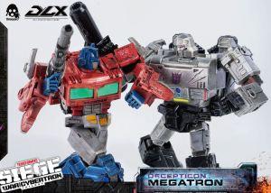Threezero Transformers Figures - War For Cybertron Megatron & Optimus Prime
