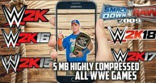 10MB below!!! DOWNLOAD ALL WWE Games For Android!! No Root