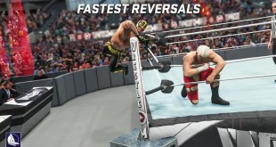 60 Fastest Finisher Reversals ever in WWE Games!