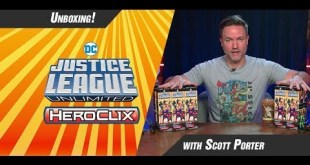 DC Comics HeroClix Justice League Unlimited Unboxing Day 1