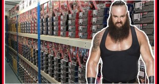 HUGE TOY HUNT!!! | BRAUN STROWMAN VISITS WRESTLING SHOP FIGURE WAREHOUSE | WWE Mattel Wrestling #84