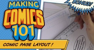 How To Format Your Comic Art Boards! Making Comics 101- Bonus!