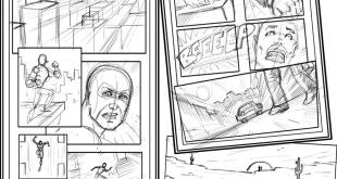 How to Compose Comic Book Pages, with Impact!